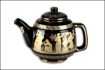 Dzbanek porcelana grecka 18cm