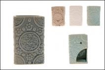 Kominek ceramiczny 8x8x12cm