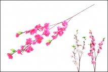 Kwiat sztuczny 67cm 30 główek biały, różowy, czerwony
