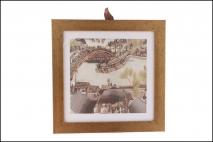 Obraz drukowany w ramie 29x29cm