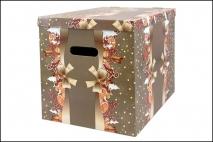 Pudełko dekoracyjne  370x300x320mm pierniki