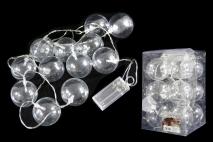 Ozd.Lampki na choinkę LED 12 kul