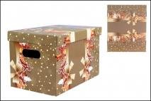 Pudełko dekoracyjne 300x180x190mm piernik