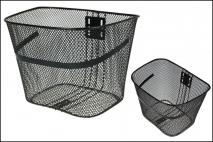Koszyk rowerowy 33,5x26x23cm metal