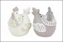 Wielk. Przyprawnik ceramiczny kura 5,1x4,4x5,7cm