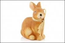 Wielk. Figurka ceramiczna - królik 9,5x6x13cm