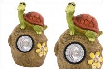 Figurka dekoracyjna żółw 22x15.5x33,5cm polyresin