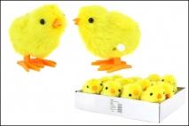 Wielk. Skaczący kurczak-nakręcany 7,5cm
