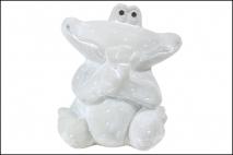 Figura ogrodowa żaba 17cm, ceramika