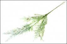 Gałązka z kwiatów sztucznych 58cm