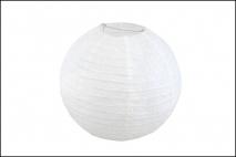 Lampion papierowy 30cm, biały