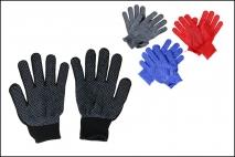 Rękawice robocze mat. włókienniczy pokryty gumą