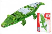 Krokodyl dmuchany do pływania
