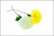 Kwiat sztuczny chryzantema 40cm