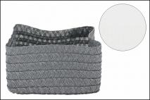 Koszyk pleciony - organizer 15x11x8,5cm