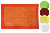 Mata stołowa 45x30cm, przędza papierowa