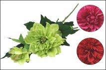 Kwiat sztuczny piwonia, mix 4 kolorów