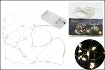 Lampki dekoracyjne 15LED - choinki 180cm, ciepłe światło