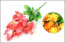 Bukiet kwiatów sztucznych 40cm, 9gł.