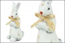 Wielk. Figurka ceramiczna - królik 6x5x13cm