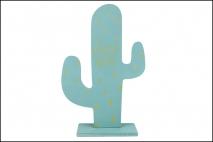 Dekoracja drewniana - kaktus 18x30x4cm