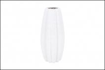 Wazon ceramiczny 11x24,5cm, biały