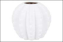 Wazon ceramiczny 16,5x15cm, biały