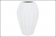 Wazon ceramiczny 25x37cm, biały