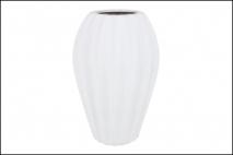 Wazon ceramiczny 20,5x31cm, biały