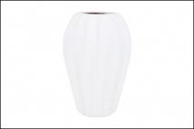 Wazon ceramiczny 16,5x24cm, biały