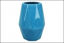 Wazon ceramiczny 18,5x25cm, niebieski