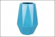 Wazon ceramiczny 15,5x21,5cm, niebieski