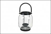Lampion szklany 17,7cm