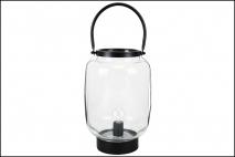 Lampion szklany 25,5cm