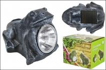 Żaba dekoracyjna, solarna
