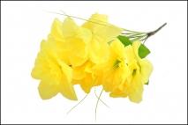 Bukiet kwiatów sztucznych żonkil 8gł.