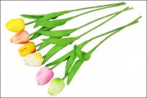 Kwiat sztuczny - tulipan 33,5cm