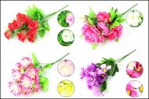 bukiet Kwiatów sztucznych mix