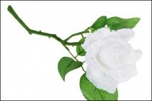 Kwiat sztuczny róża 29cm
