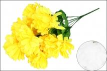 Bukiet kwiatów sztucznych chryzantema 55cm 9gł.