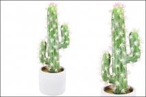 Kaktus sztuczny 8x8x25cm