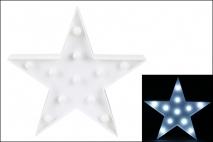 Ozd.boż. Dekoracja LED - gwiazda 27cm x 27cm
