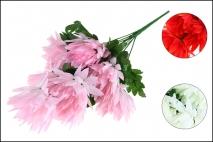 Bukiet z kwiatów sztucznych 9 gł. 45cm