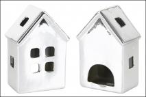 Świecznik dekoracyjny - domek 10,1x7,2x15,5cm