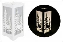 Dekoracja - Lampka LED 10x10x23cm