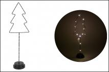 Ozd.boż. Choinka LED 14.5x9.5x51cm