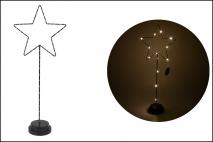 Ozd.boż. Gwiazda z LED 19.5x9.5x51