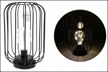Lampion metalowy 16x16x24,5