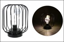 Lampion metalowy 16x16x19
