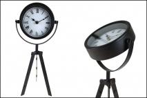 Zegar na baterie 18x42cm czarny